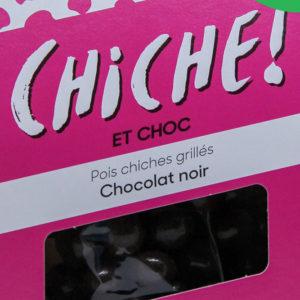 Pois chiche pour l'apéritif à croquer les légumineuses gout chocolat noir bio