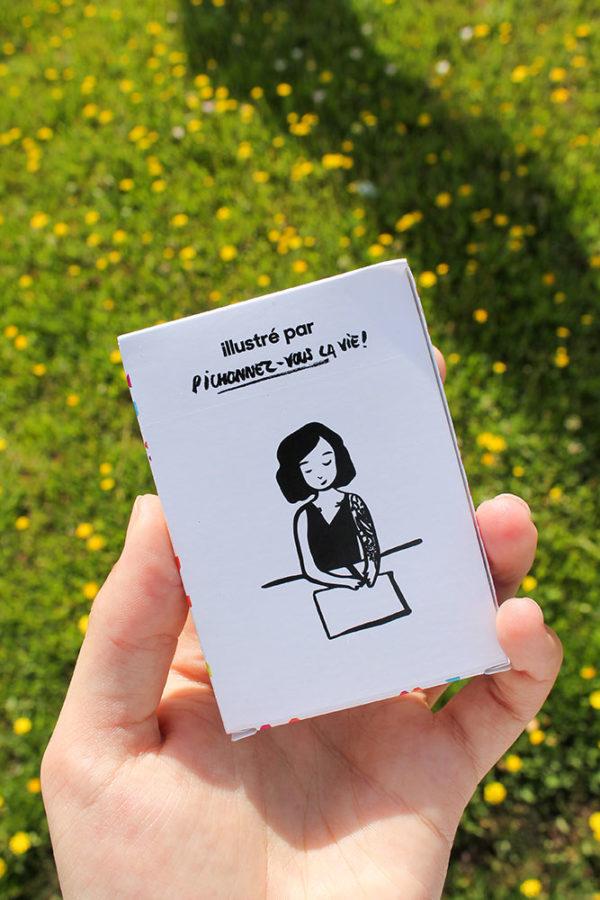 Jeu de cartes Goodies CHICHE Pois chiche pour l'apéritif BIO